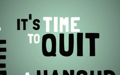 On Your Mark, Get Set, QUIT!